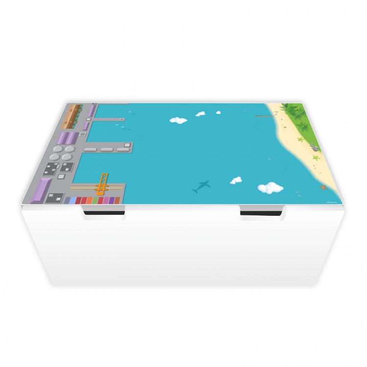 Spielfolie für STUVA Hafen und Insel (Möbel nicht inklusive)