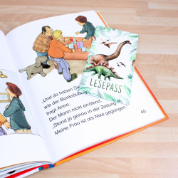 Lesepass 10 Motive sortiert Lesezeichen zum lesen üben Grundschule