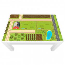 Spielfolie für LACK Tisch klein Bauernhof  (Möbel nicht inklusive)