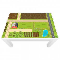 Spielfolie für LACK Tisch groß Bauernhof (Möbel nicht inklusive)
