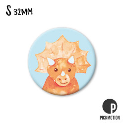 Pickmotion S-Magnet Triceratops Dinosaurier