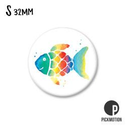 Pickmotion S-Magnet Rainbow Fish Regenbogenfisch Fisch