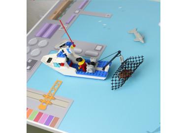 Spielfolie für KALLAX Regal Hafen & Insel (Möbel nicht inklusive)