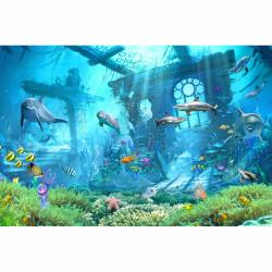 Fototapete Unterwasser Vliestapete Kinderzimmer Tapete inkl. Kleister