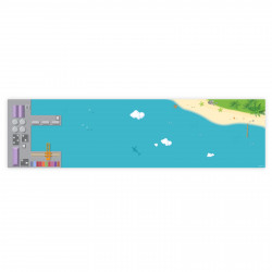 Spielfolie für KALLAX Regal Hafen & Insel lang (Möbel nicht inklusive)