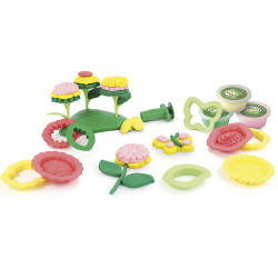 GREEN TOYS  Öko Knete Set Blumen