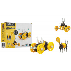 THE OFFBITS Bausatz Vehicle kit- Yellow Car- BlazeBit