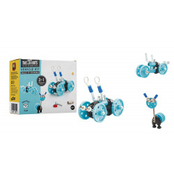 THE OFFBITS Bausatz Vehicle kit- Blue Car- GearBit