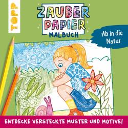TOPP Zabuerpapier Malbuch - Ab in die Natur