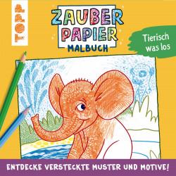 TOPP Zabuerpapier Malbuch - Tierisch was los!