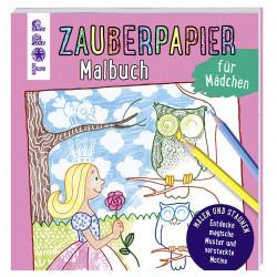 TOPP Zabuerpapier Malbuch - Für Mädchen