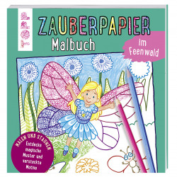 TOPP Zauberpapier Malbuch - Im Feenwald