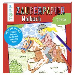 TOPP Zauberpapier Malbuch - Pferde