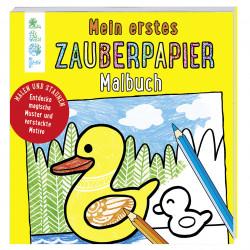 TOPP Zauberpapier Malbuch - Mein erstes Zauberpapier Malbuch