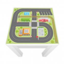 Spielfolie für LACK Tisch Stadtleben (Möbel nicht inklusive)