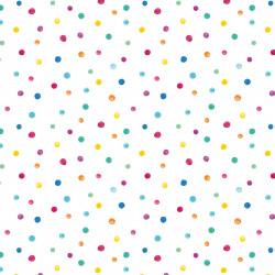 5 Bögen Geschenkpapier Punkte Dots bunt - 1,60€/qm- 84,1 x 59,4 cm