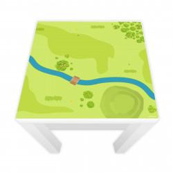 Spielfolie für LACK Tisch Wald & Wiese (Möbel nicht inklusive)