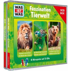 WAS IST WAS 3-CD Hörspielbox: Faszination Tierwelt