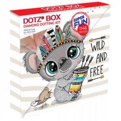 Diamond Dotz Wild & Free - DOTZ BOX - 22 x 22 x 2 cm