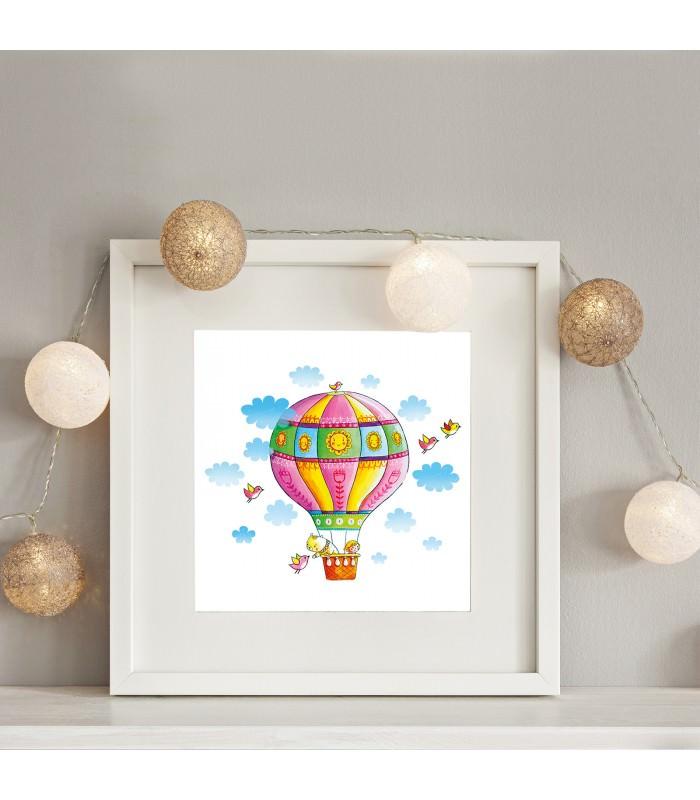 Heißluftballon Kinderzimmer 006 kinderzimmer bild