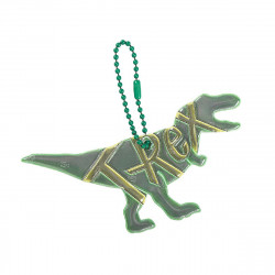 MOSES Glimmi T-Rex bunt Reflektor Anhänger