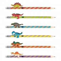 MOSES Bleistift mit Radiergummi und Dinosaurier vers. Motive