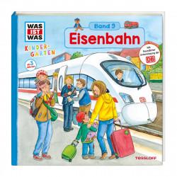 WAS IST WAS Kindergarten Band 09 Klappenbuch Eisenbahn