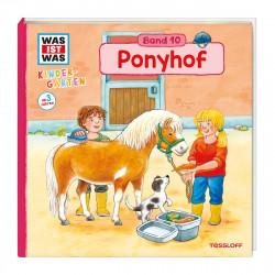 WAS IST WAS Kindergarten Band 10 Klappenbuch Ponyhof