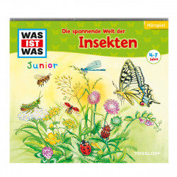 WAS IST WAS Junior CD-Hörspiel: Die spannende Welt der Insekten