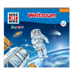 WAS IST WAS Junior CD-Hörspiel: Weltraum