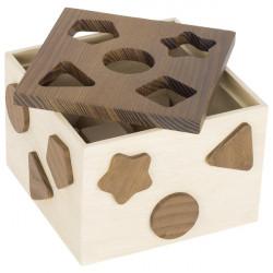 GOKI nature Holz Sortierbox ab 1 Jahr