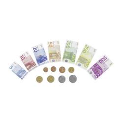 GOKI Spielgeld Geldscheine und Münzen in Euro - 116 Teile