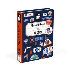 JANOD Magnetbuch Weltall, 52 Magnete
