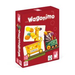 JANOD Kombinationsspiel Wagonimo ab 3 Jahren