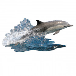 MADDCAPP Puzzle Delfin 100 Teile Konturpuzzle XL