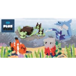 PLUS-PLUS 100 Kreativ Bausteine Hai Tube
