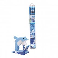 PLUS-PLUS 100 Kreativ Bausteine Delfin Tube