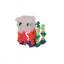 PLUS-PLUS 100 Kreativ Bausteine Qualle Tube