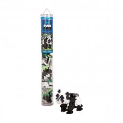 PLUS-PLUS 100 Kreativ Bausteine Panda Tube