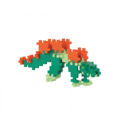 PLUS-PLUS 100 Kreativ Bausteine Stegosaurus Tube