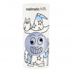 NAILMATIC KIDS - Kinder Nagellack Merlin Perlblau, 8 ml