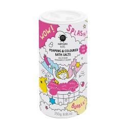 NAILMATIC KIDS - schäumendes Badesalz färbt pink - 250g