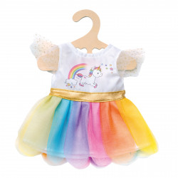 "HELESS Einhorn-Kleid ""Henri"" Gr. 35-45 cm Puppenkleidung"
