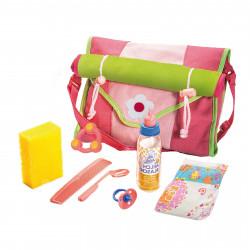 HELESS Wickeltasche mit viel Zubehör für Puppenmamas
