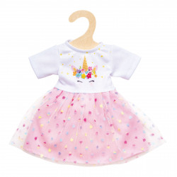 "HELESS Einhorn-Kleid ""Hannah"" Gr. 35-45 cm Puppenkleidung"