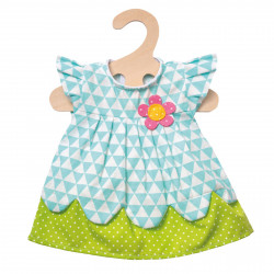 """HELESS Kleid """"Daisy"""" Gr. 35-45 cm SPIELGUT Puppenkleidung"""