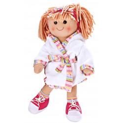 HELESS Puppen Bademantel, Gr. 35-45 cm Puppenkleidung