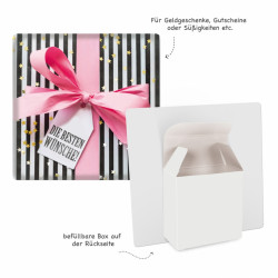 TRÖTSCH 3D-Geschenkbox Geschenk Streif formgestanzt