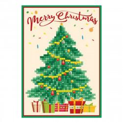 Diamond Dotz Grußkarte Merry Christmas