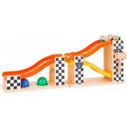 SMALL FOOT Holz Klopfkugelbahn Rallye ab 18 Monate